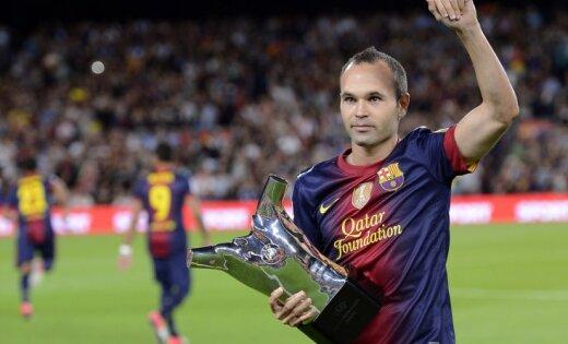 Injesta pagarinājis līgumu 'uz mūžu' ar 'Barcelona' komandu
