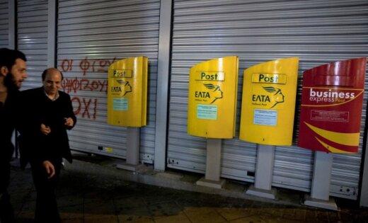 Grieķijas pastā atrastas astoņas vēstuļbumbas
