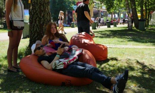 ФОТО: В Салацгриве стартует уже 11-й фестиваль Positivus