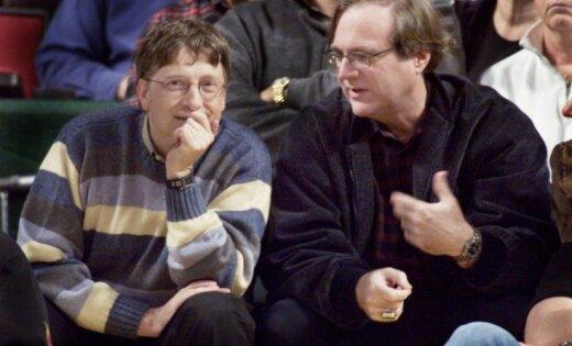 Miris viens no pasaules bagātākajiem cilvēkiem – 'Microsoft' līdzdibinātājs Pols Alens