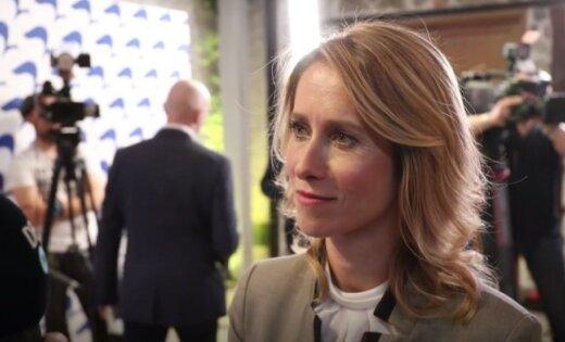 Par Igaunijas Reformu partijas līderi ievēlēta partijas dibinātāja Sīma Kallasa meita Kaja Kallasa