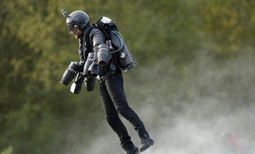 Установлен рекорд Гиннесса по скорости полета в костюме Железного человека