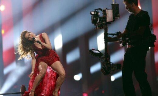 "ФОТО, ВИДЕО: Латвия не попала в финал ""Евровидения"""