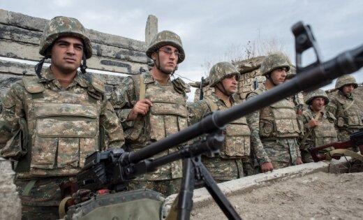 В Карабахе идут ожесточенные бои Армения заявила о наступлении Азербайджана