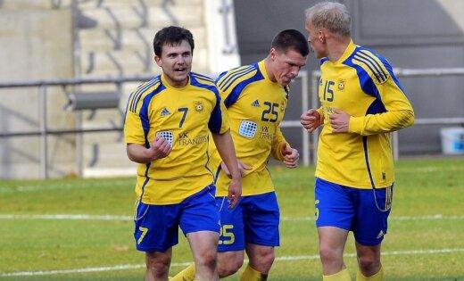 'Ventspils' futbolisti iekļūst Ziemas kausa izcīņas finālā