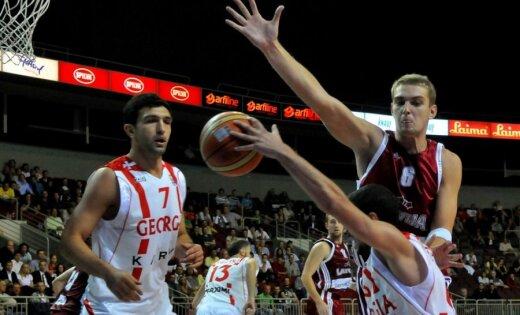 Otrajai spēlei ar Gruziju Latvijas komanda gatavojas citādāk