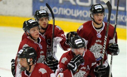'Rīgas' hokejisti pārbaudes turnīra Čerepovecā otrajā spēlē uzvar MVD komandu