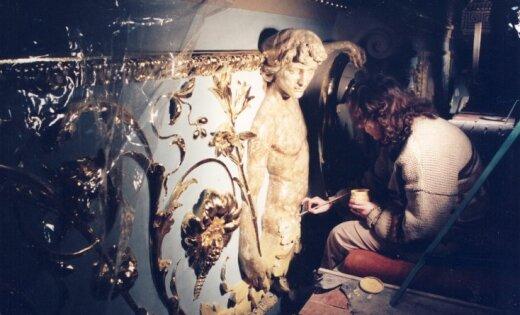 Unikāli kadri: Kā pirms 20 gadiem restaurēja Operas namu