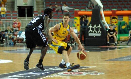 'Ventspils' basketbolisti smagā cīņā tiek pie pirmās uzvaras LBL finālsērijā