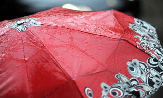 Синоптики рассказали, где в Латвии ожидаются дожди