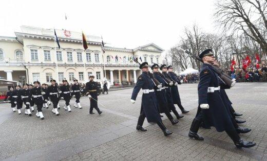 ВЛитве прошли празднества, приуроченные к 100-летию независимости