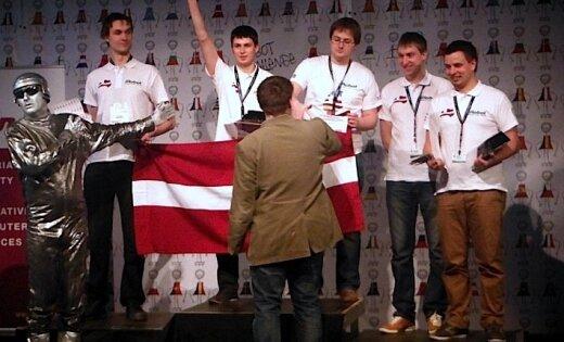 На чемпионате Европы по роботехнике Латвия заняла весь подиум (видео)