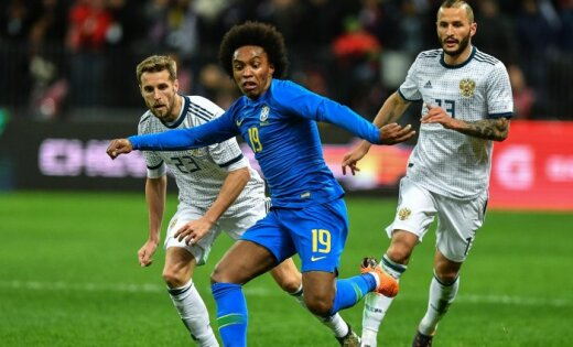 Бейджи сосхемой выхода из«Лужников» раздадут болельщикам матча Россия-Бразилия