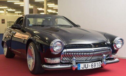Foto: Pārdošanā nonācis Latvijā tapušais 'GAZ 21' uz 'Mercedes' bāzes