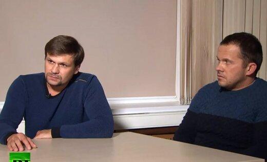 """Пресса Британии об интервью """"отравителей Скрипаля"""": Путин показал миру фигу"""