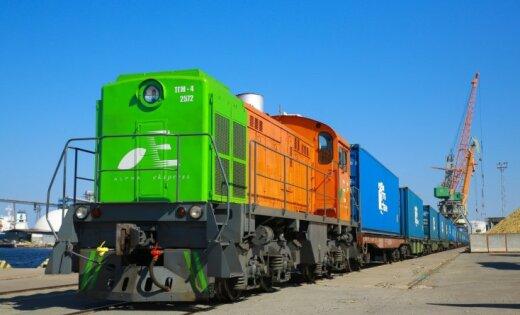 LDz loģistika в первом полугодии перевезла на 29% контейнеров больше