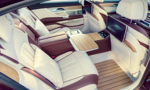 BMW izgatavojis 7. sērijas limuzīnu jahtas stilā