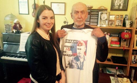 Композитор Имант Калныньш приобрел майку с Путиным