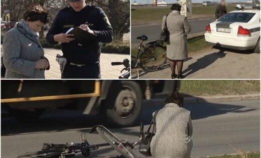 Депутата Винькеле на велосипеде сбил автомобиль