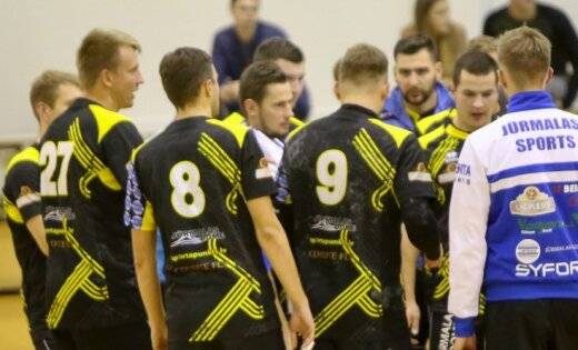'Jūrmalas Sports' un ASK/LSPA handbolisti pēdējā spēļu kārtā nodrošina vietu 'play-off'