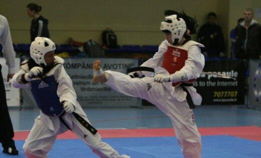 Латвийские сестры Тарвида завоевали медали чемпионата Европы по таэквондо