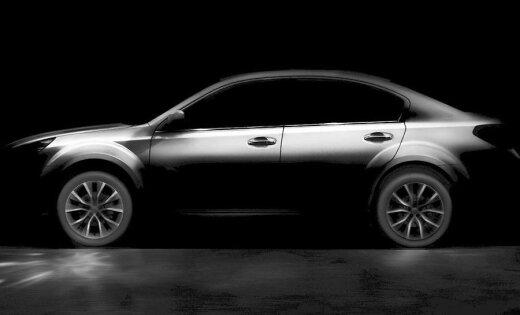 Subaru представит в Китае новый седан Legacy