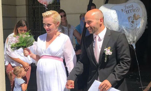 Латвийская саночница Майя Тирума вышла замуж за чемпиона Европы из Германии