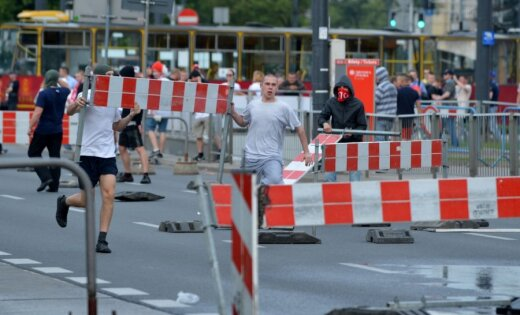 EURO 2012 laikā aizturēti jau vairāk nekā 500 fani