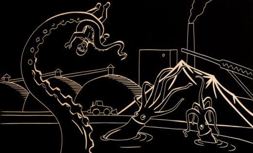 Foto: Miķeļa Fišera reptiloīdi un citplanētieši 57. Venēcijas mākslas biennālei