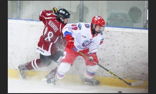 HK Riga- Krievija U-18