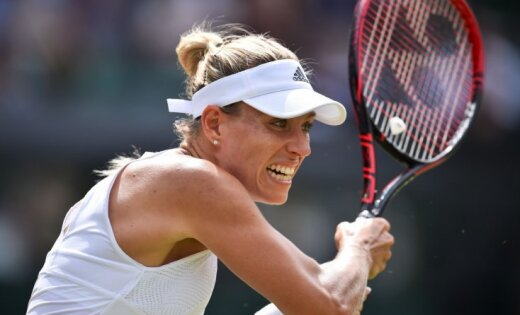 """""""Уимблдон"""": Кербер уступила Мугурусе и потеряет лидерство в рейтинге WTA"""