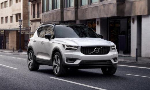 'Volvo' prezentējis savu vismazāko apvidnieku 'XC40'