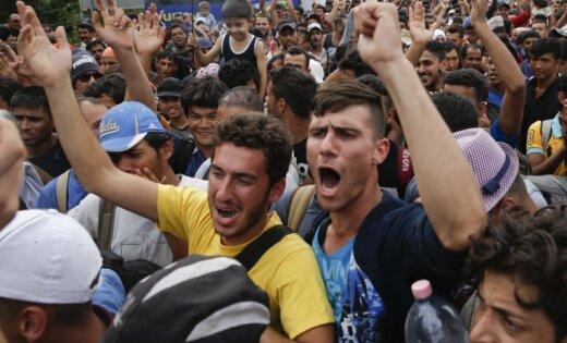 После закрытия Венгрией границы мигранты направились в Хорватию