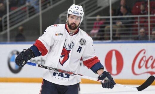 Daugaviņam trīs rezultatīvas piespēles zaudējumā pret KHL līderi SKA