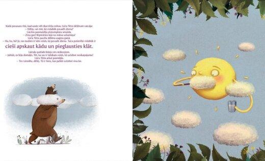 Ar jaunu bilžu grāmatu 'Liels un mazs' uzsāk lasītveicināšanas programmu bērniem