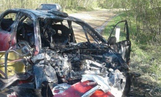Viens no ERČ līderiem Lukjaņuks pirmsrallija testos cietis avārijā ar bojāgājušo