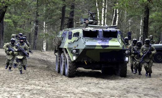 Somija kara laiku armiju palielinās līdz 280 000 karavīriem
