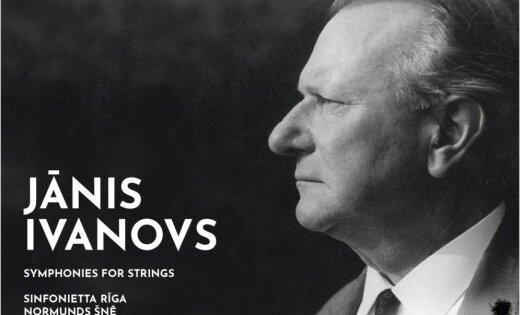 80 pasaules valstīs iznāk albums 'Ivanovs: Simfonijas kamerorķestrim'