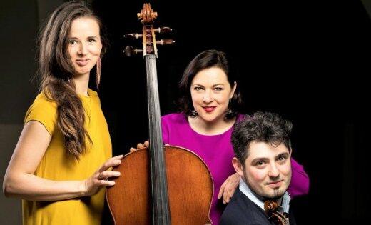 Rudens kamermūzikas festivālā sevi piesaka jaundibinātais trio SOL