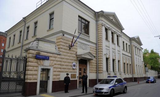 Maskavā noticis uzbrukums Latvijas vēstniecībai