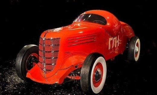 ГАЗ ГЛ-1 - первая гоночная машина в СССР