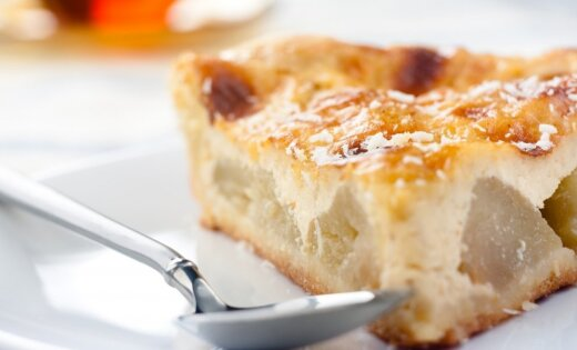 Пирог запеканка из творога