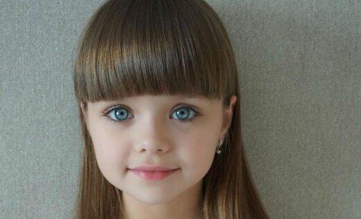 Krievu meitenīte, kuru dēvē par skaistāko bērnu pasaulē