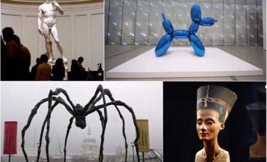 Celmlauži, etaloni un provokatori: 15 slavenas skulptūras, kas jāzina ikvienam