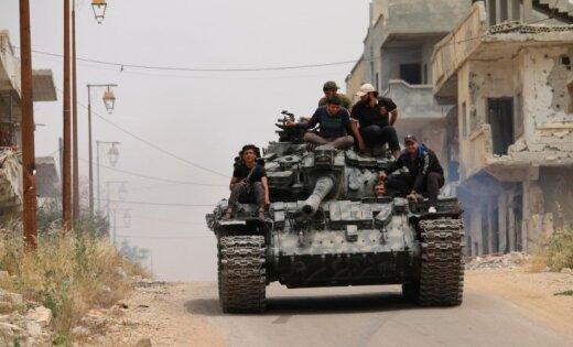 Защитники прав человека: Повстанцы отбили уИГИЛ сирийский город Табка