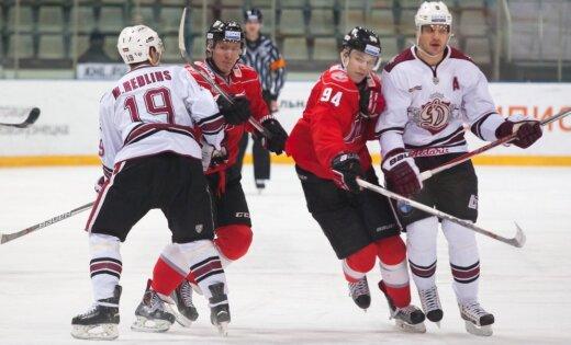 Рижское «Динамо» забросило шесть шайб вворота «Кузни»