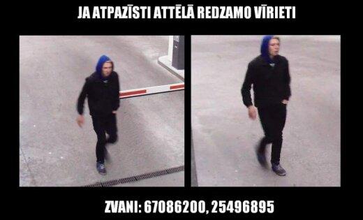Policija meklē laupītāju
