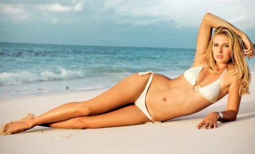 ФОТО: Мария Шарапова снялась в купальнике для журнала Voque