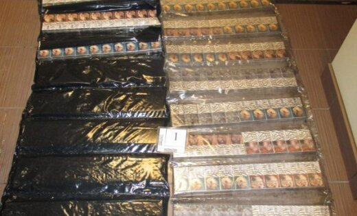 Ночное ЧП: пограничники задержали контрабандиста и изъяли 60 000 сигарет