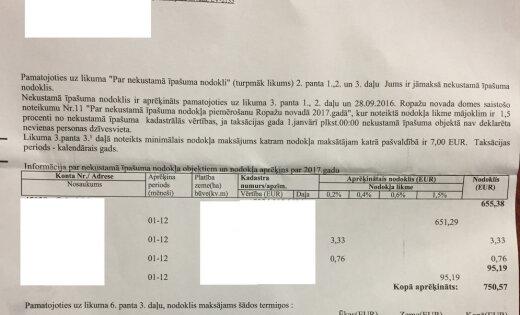 """""""Золотая земля"""". За недостроенный дом семье нужно заплатить налог почти 800 евро"""